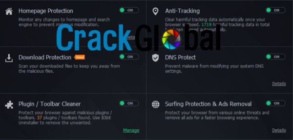 IObit Malware Fighter Pro Crack 8.0.2.592 Free Download
