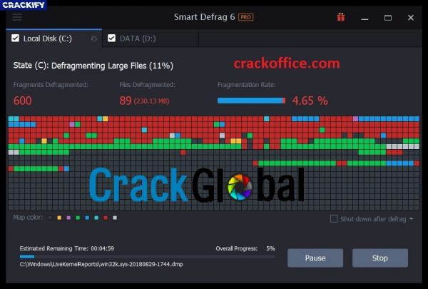 IObit Smart Defrag Pro Crack 6.5.5.119 Free Download 2020
