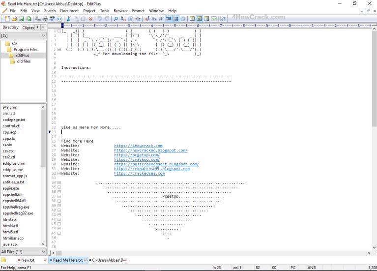 EditPlus Crack 5.4 Build 3430 With License Key Free Download 2021