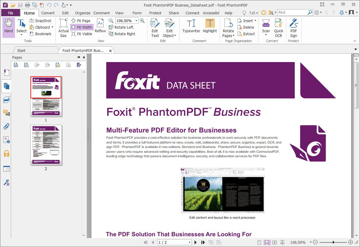 Foxit PhantomPDF Business Crack 10.1.1.37576 With Latest Download 2021
