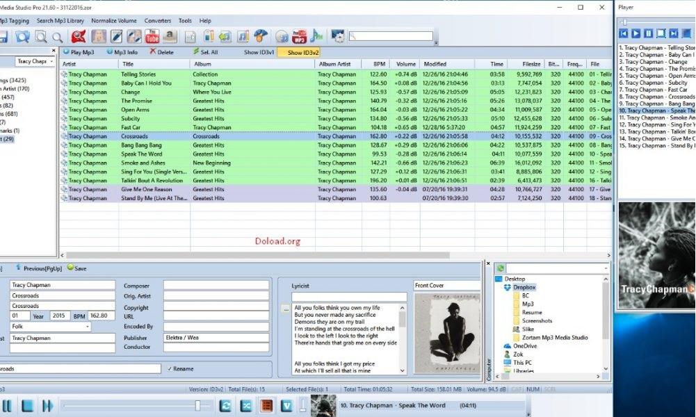 Zortam Mp3 Media Studio Pro Crack 27.25 + Serial Key Free Download 2020