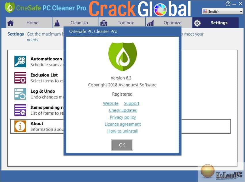 PC Cleaner Pro Crack 14.0.18.6.11 + License Key Free Download [Latest] 2021