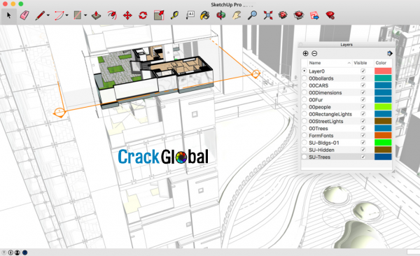 SketchUp Pro Crack 2020.1 With Full License Key Latest 2020