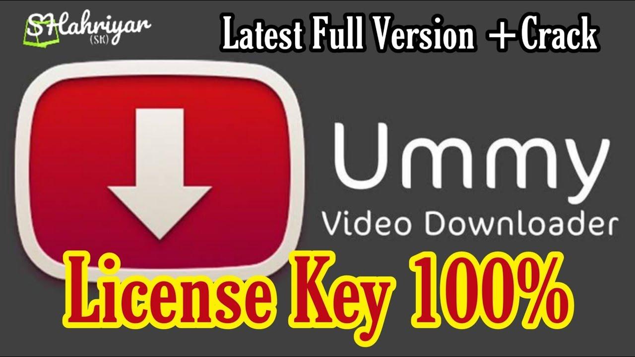 Ummy Video Downloader Crack 1.10.10.8 Full License Key [Latest] 2021