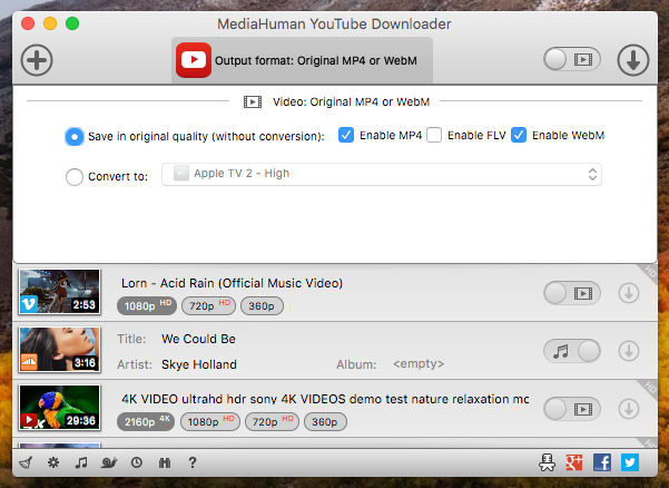 MediaHuman YouTube Downloader Crack 3.9.9.42 + Key Download 2020