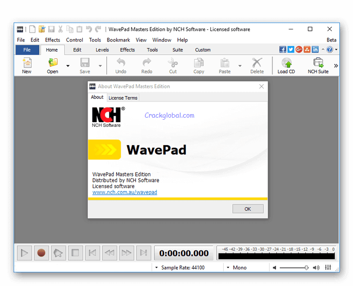 NCH WavePad Crack 10.88 + Registration Code [latest] 2020