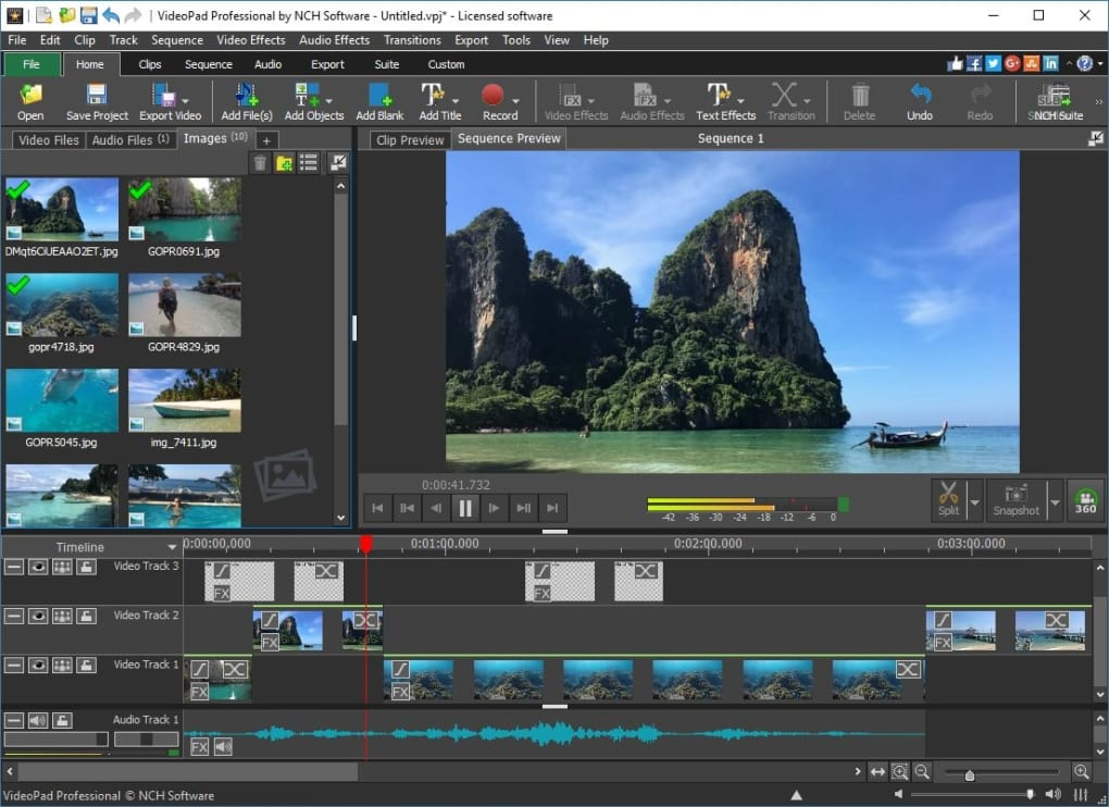 VideoPad Video Editor Pro Crack 9.01+ Full [ Latest Version ] 2021