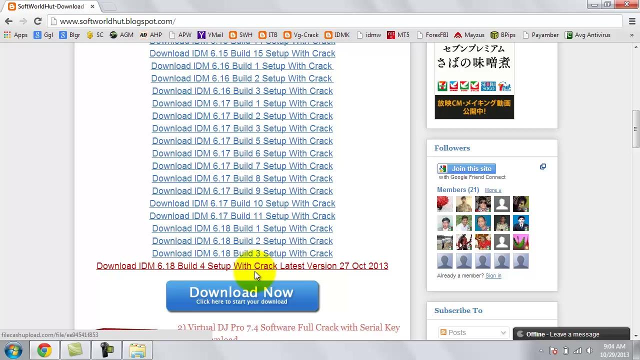 Internet Download Manager Crack 6.38 Build 6 IDM Patch + Serial Keys [Latest]