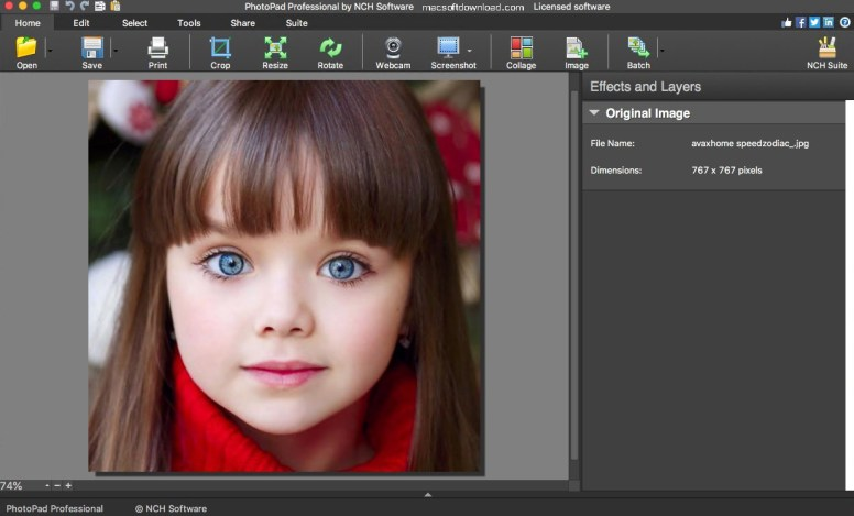 NCH PhotoPad Image Editor Pro Crack 6.55 + Free Download [latest Version]