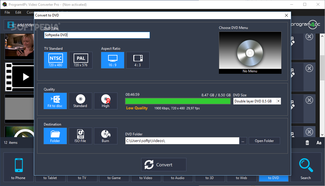 Program4Pc Video Converter Pro Crack 10.8.4 + Free Download