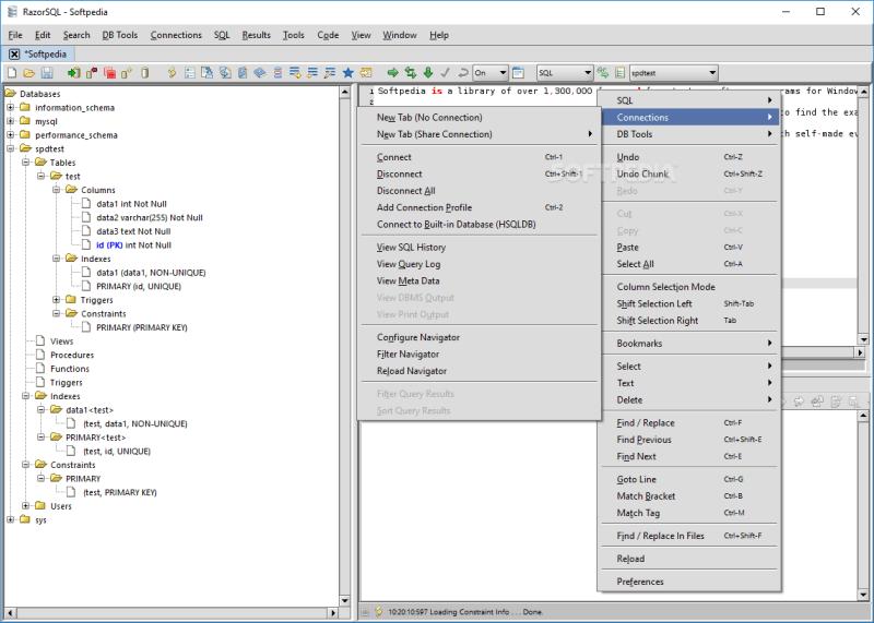 RazorSQL Crack 9.3.1  + Free Download [Latest Version]