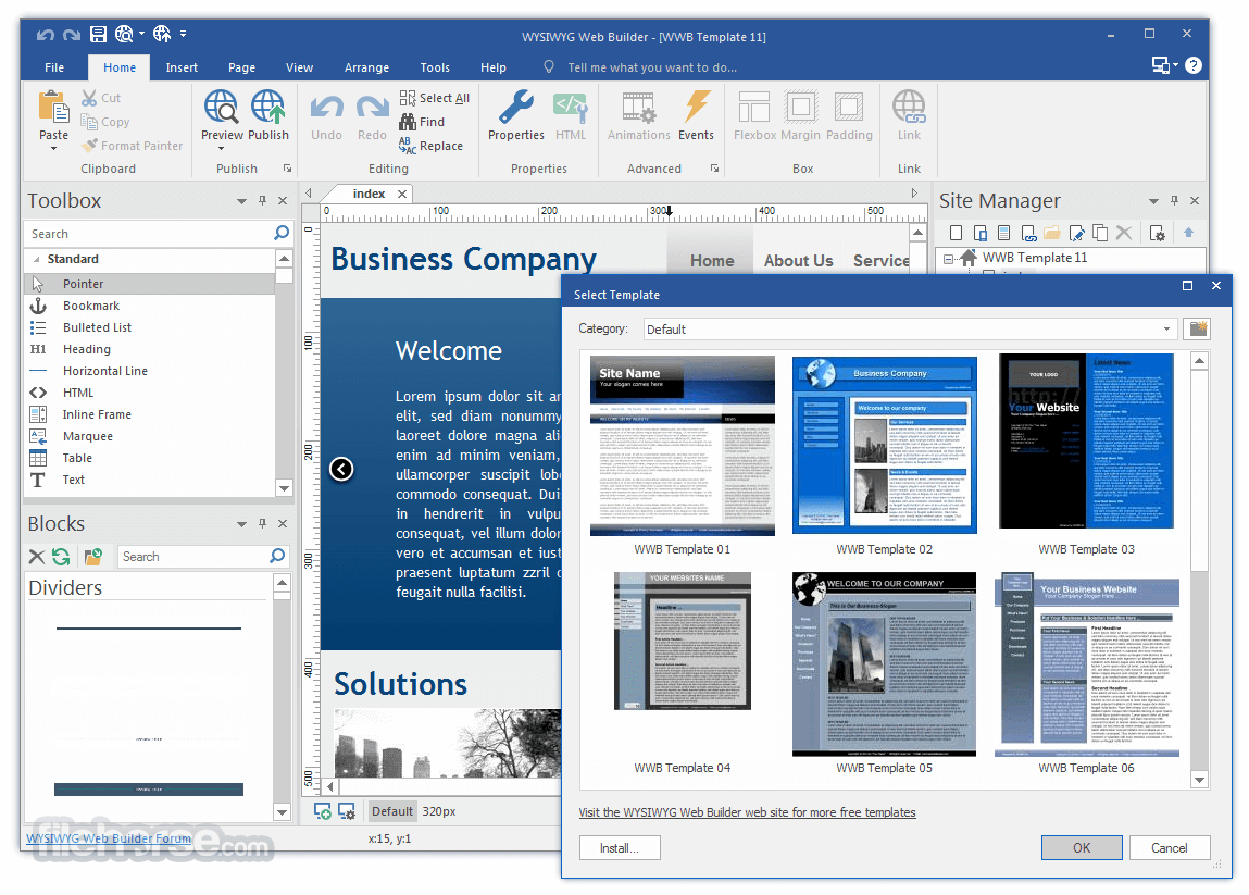 WYSIWYG Web Builder Crack 16.1.0 + Full Download [Latest]