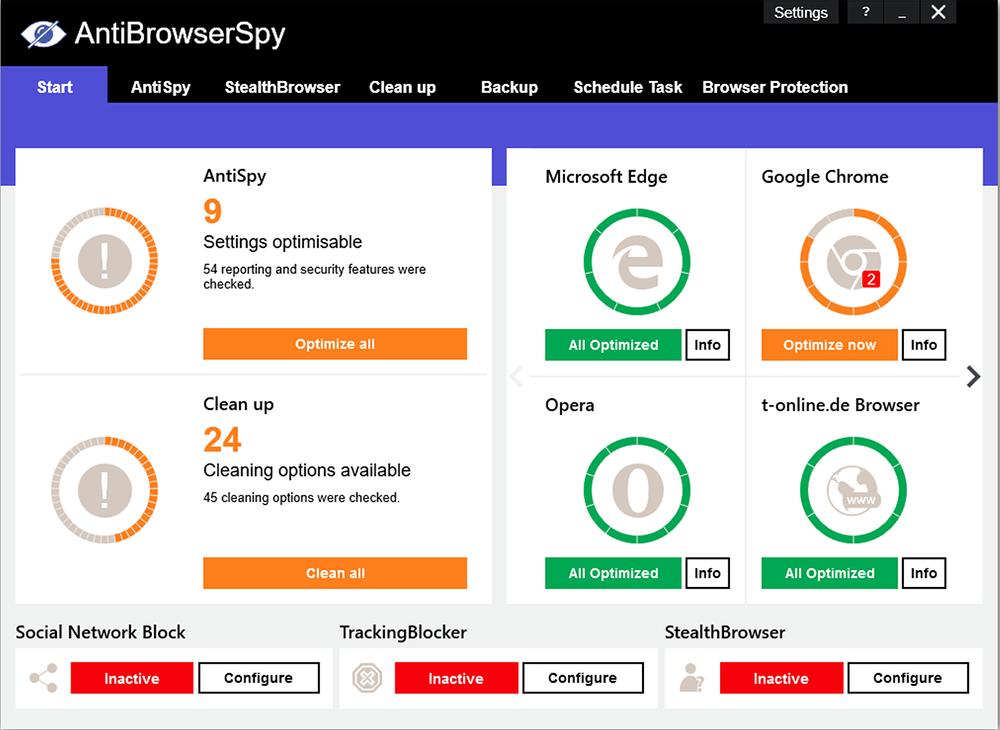 AntiBrowserSpy Pro Crack 2021.4.06.49 + Free Download