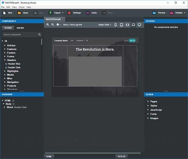 Bootstrap Studio Professional Crack v5.7.0 + Free Download 2021