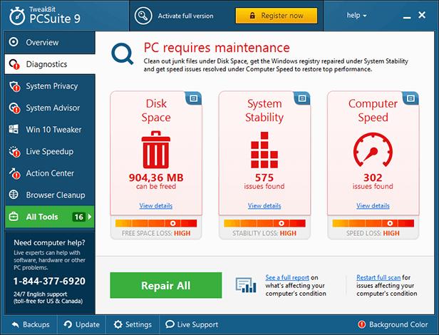 TweakBit PCSuite Crack 10.0.24.0 + License Key Free Download 2021