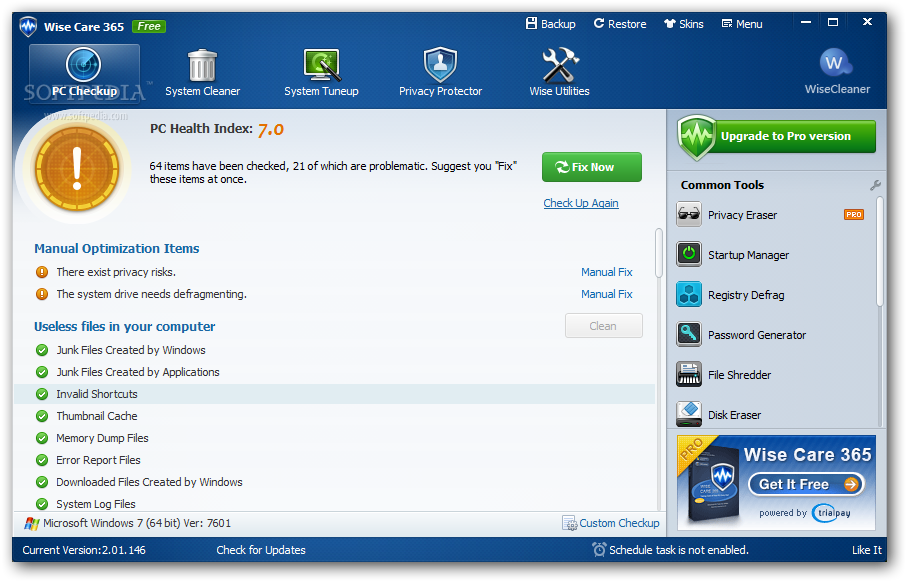 Wise Care 365 Pro Crack 5.6.4 Build 561 + Full Download [Latest 2021]