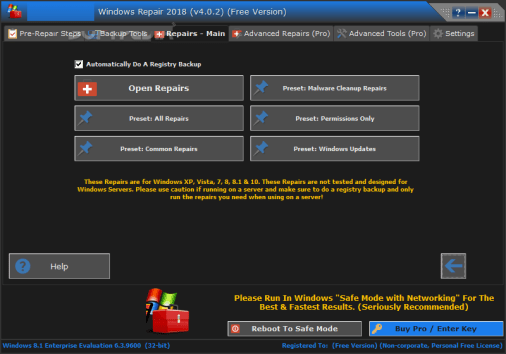 Windows Repair Pro Crack 4.11.2+ Key Full Latest 2021 Free Download