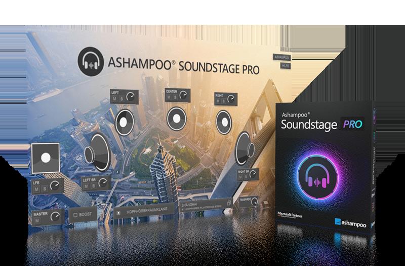 Ashampoo Soundstage Pro Crack1.0.4.0 With [ Latest Version ]