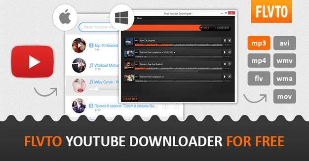 Flvto Youtube Downloader Crack 1.5.11.2 License Key Free Download 2021