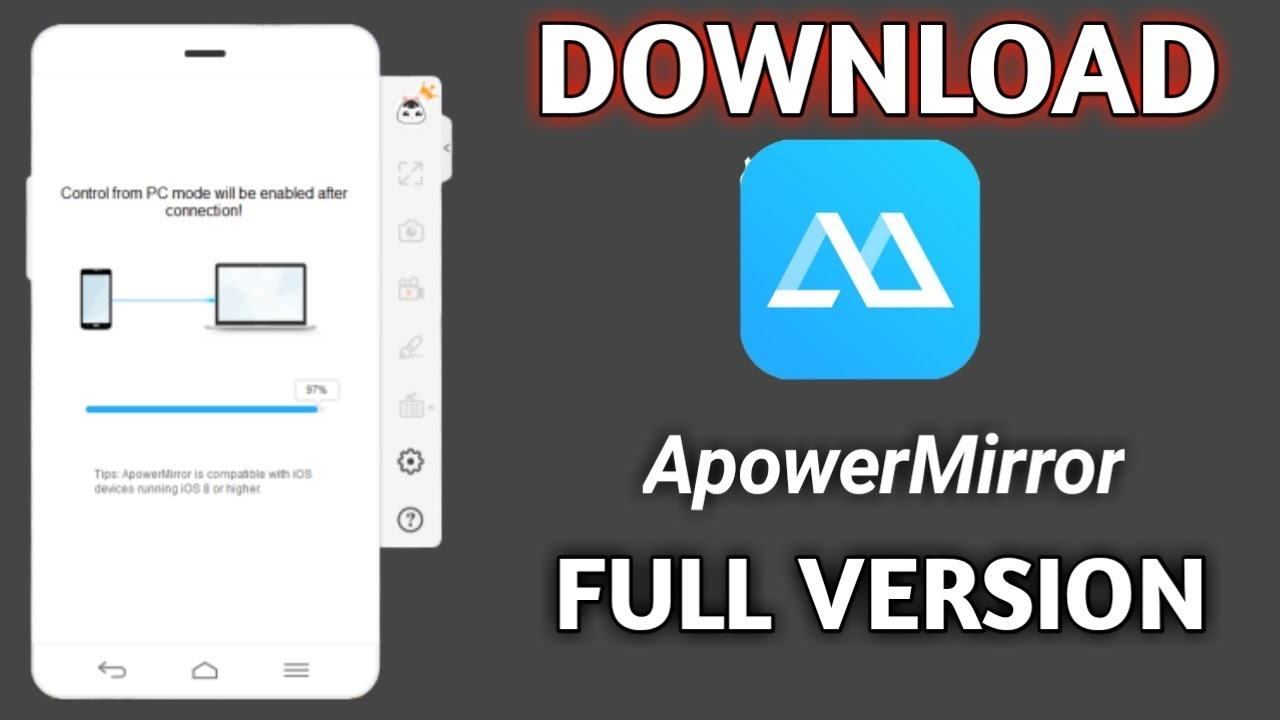 ApowerMirror Crack 1.6.0.3 With Free Download [Latest] 2021