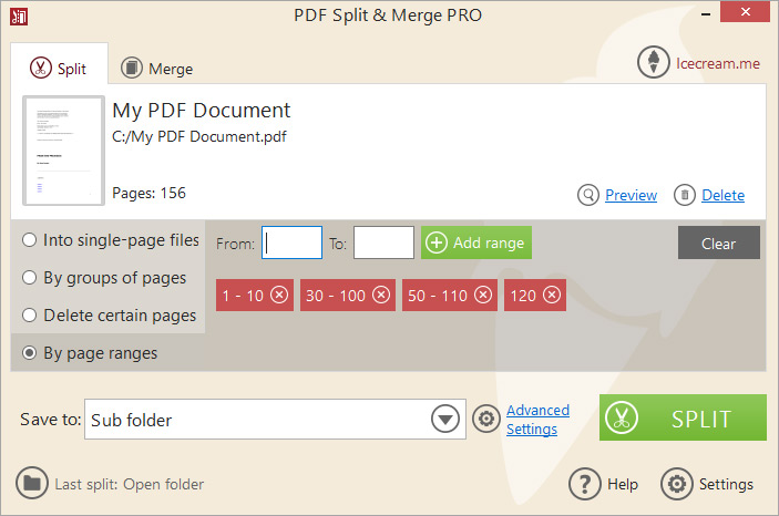 Icecream PDF Split Merge Pro Crack 4.1.6  With Keygen Full 2021 Download