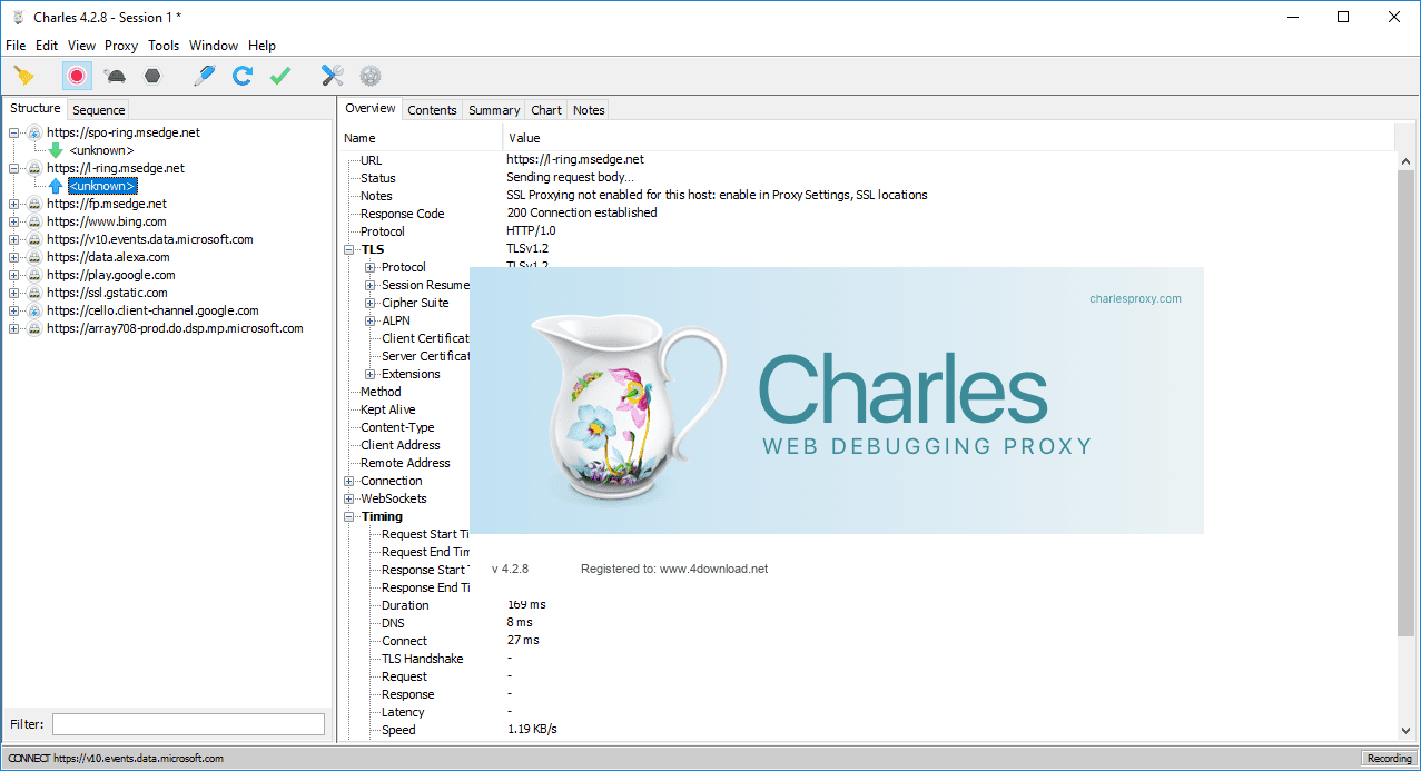 Charles Web Debugging Proxy Crack 4.6.2.7 With Serial Key Full Version 2021