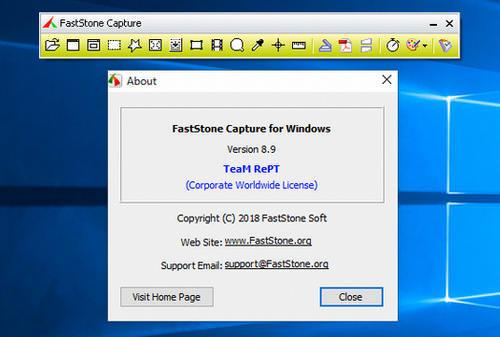 FastStone Capture Crack 9.6 + Activation Code Free Download 2021
