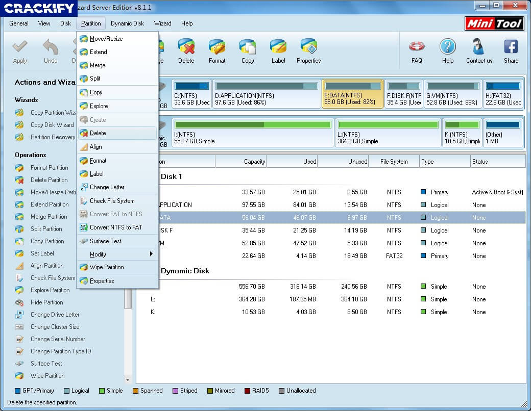 MiniTool Partition Wizard Technician Crack 12.5+ Serial Key Full Torrent 2021