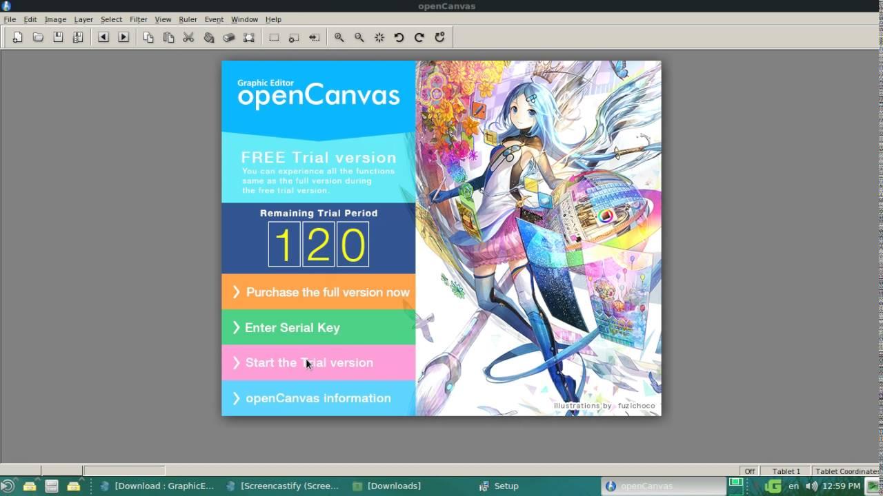 OpenCanvas Crack 7.0.30 + Serial Key Latest Version 2021