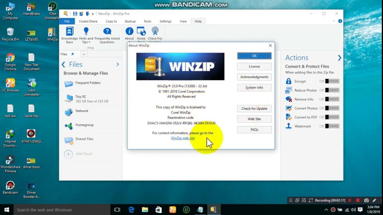 WinZip Pro Crack 25.0.14273 Plus Serial Key Latest Full Version Download