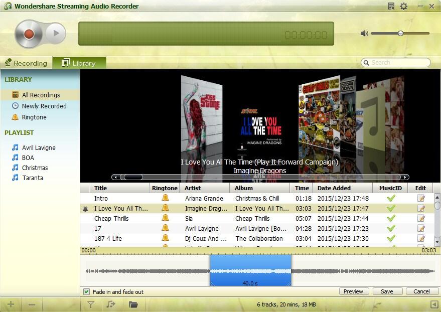 Wondershare Streaming Audio Recorder Crack 2.4.15 License Key Free Download 2021