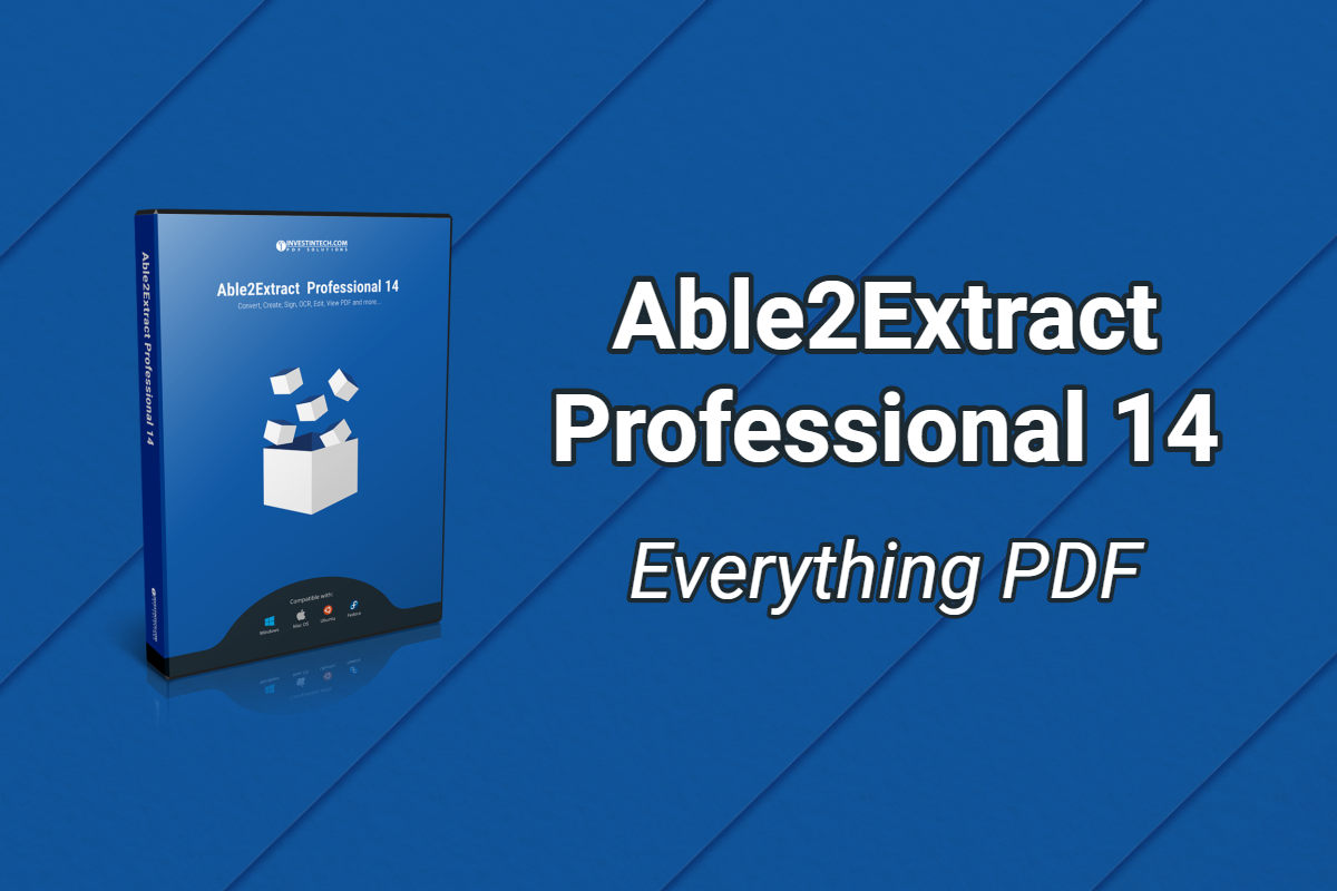 Able2Extract Professional Crack 16.0.7.0 With [Latest 2021]