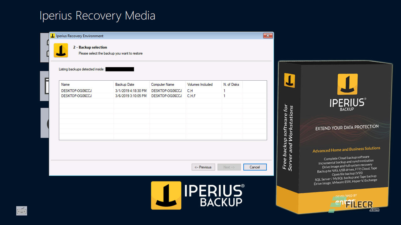 Iperius Backup Crack 7.4.1 + Keygen 2021 (Full Download) Latest Version