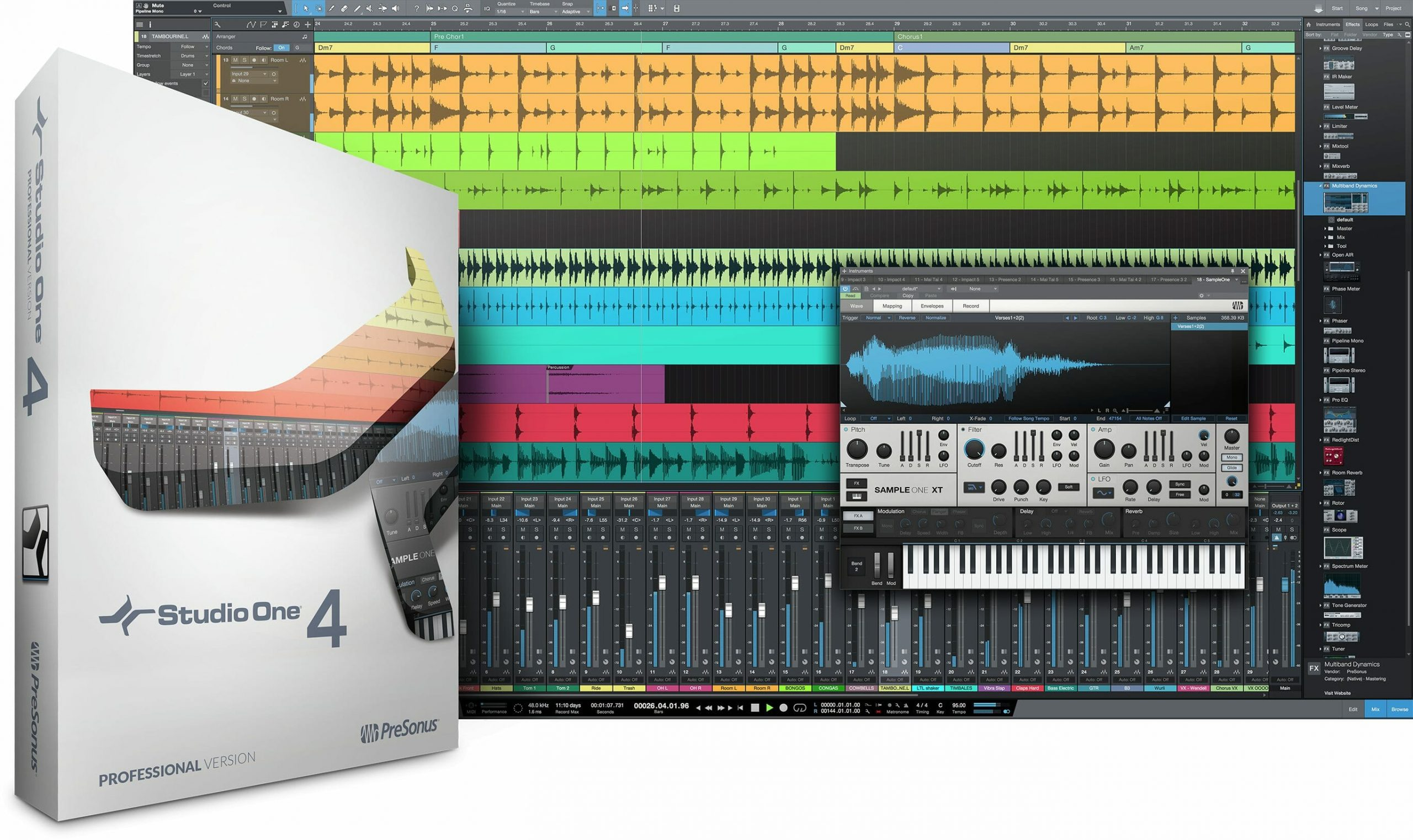 PreSonus Studio One Pro Crack 5.4.0 With Full Download [Latest] 2021